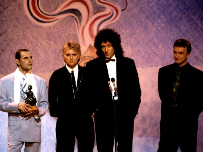 Image result for Queen won the 'British Award for Outstanding Contribution to Music